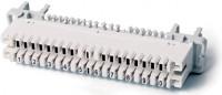 Плинт размыкаемый на 10 пар (аналог Krone), для крепления на штанге